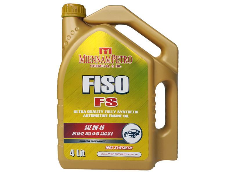 FISO FS – Dầu động cơ ô tô tổng hợp siêu hạng