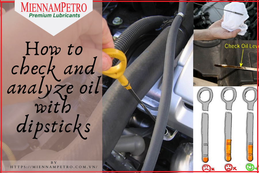 How to check and analyze oil with dipsticks (1)